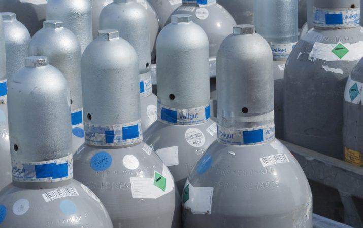 Gasflaschenservice